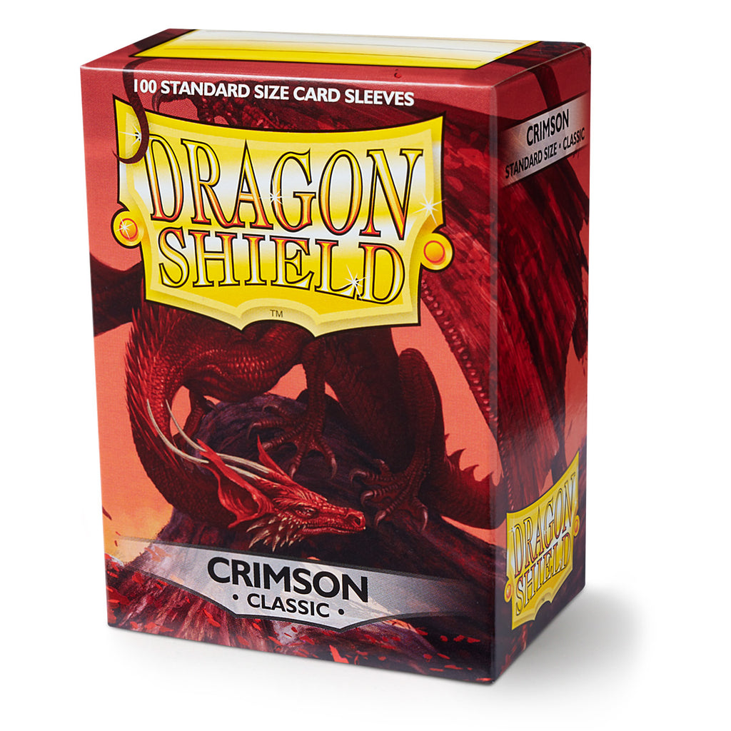 Dragon Shield - Classic Crimson (x100)