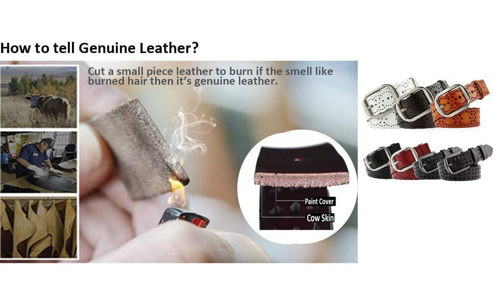 Are you still confused about how to distinguish the genuine leather belt?-JASGOOD OFFICIAL