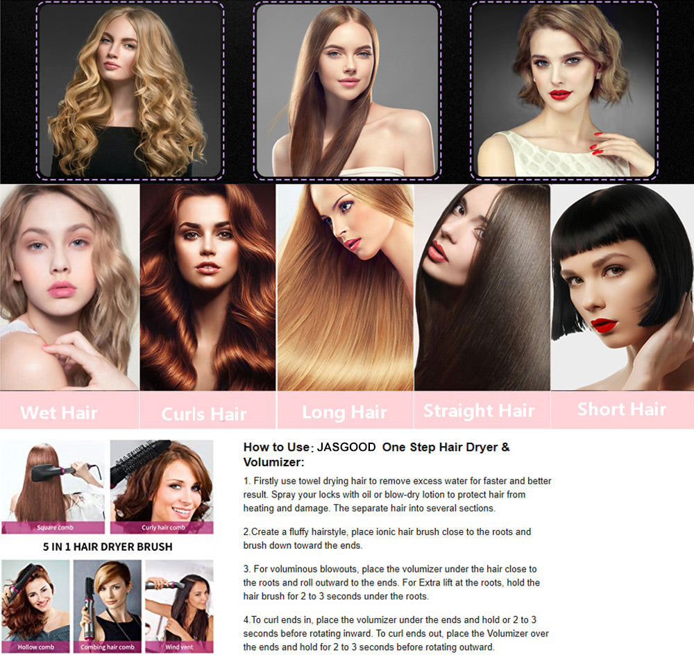 How to use hot hair styler