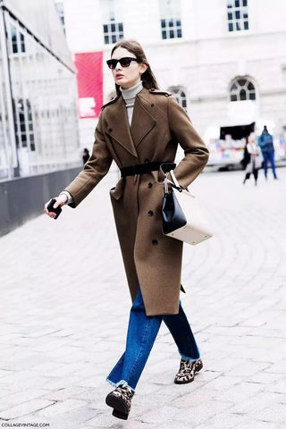 long coat coat with our own belt
