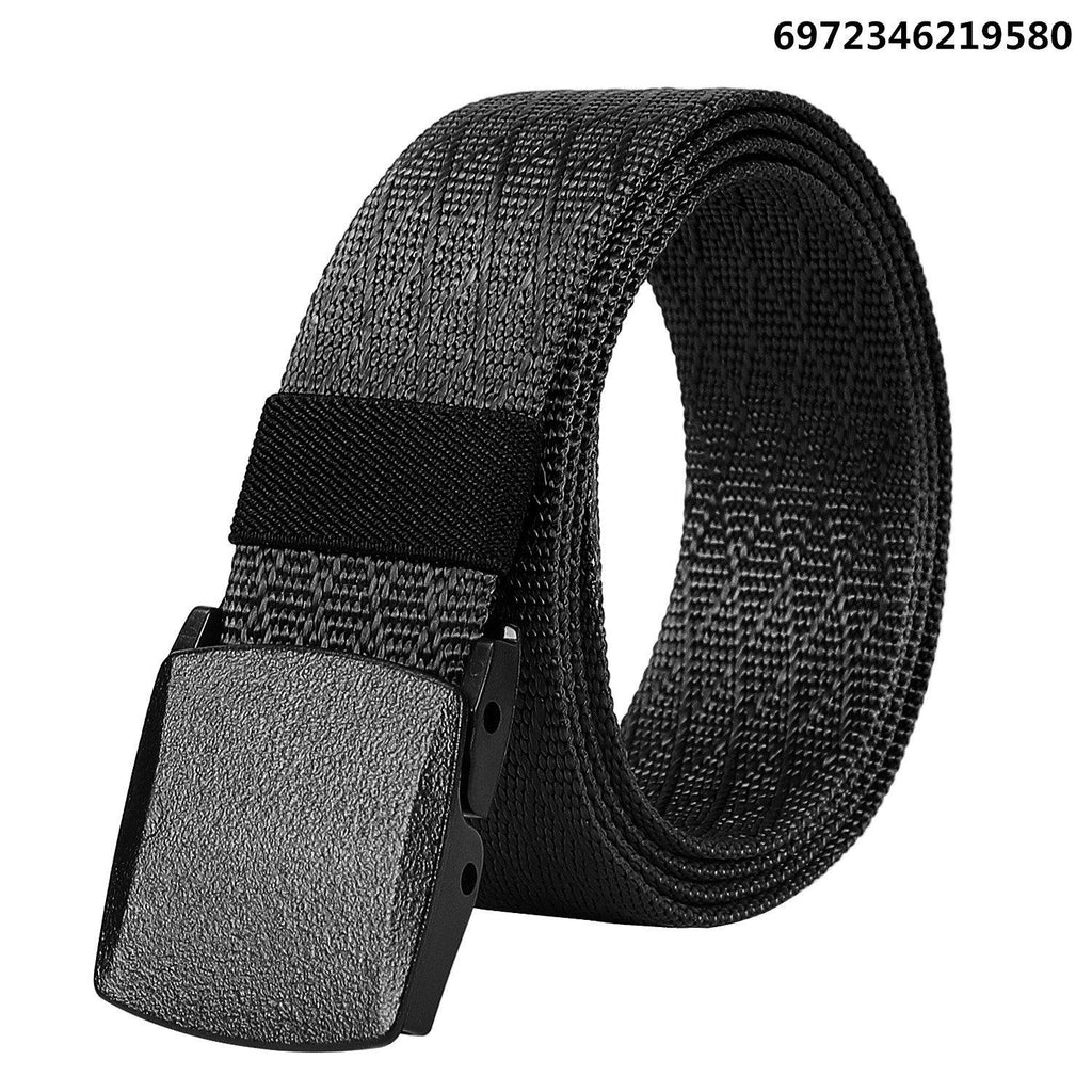 Unisex Nickel Free Belt 1.5 In Nylon Adjustable Web Belt with Plastic Buckle by JASGOOD - JASGOOD-OFFICIAL
