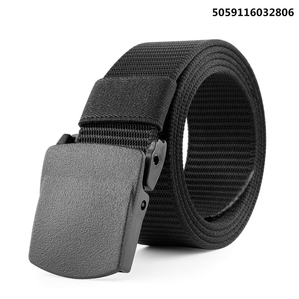 Nylon Canvas Breathable Military Tactical Men Waist Belt With Plastic Buckle by JASGOOD-JASGOOD OFFICIAL