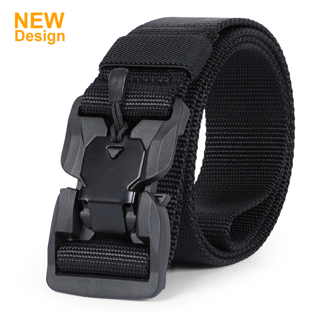 JASGOOD Multifunctional tactical belt with magnetic quick release buckle, men's military belt-nylon rigging belt - JASGOOD-OFFICIAL