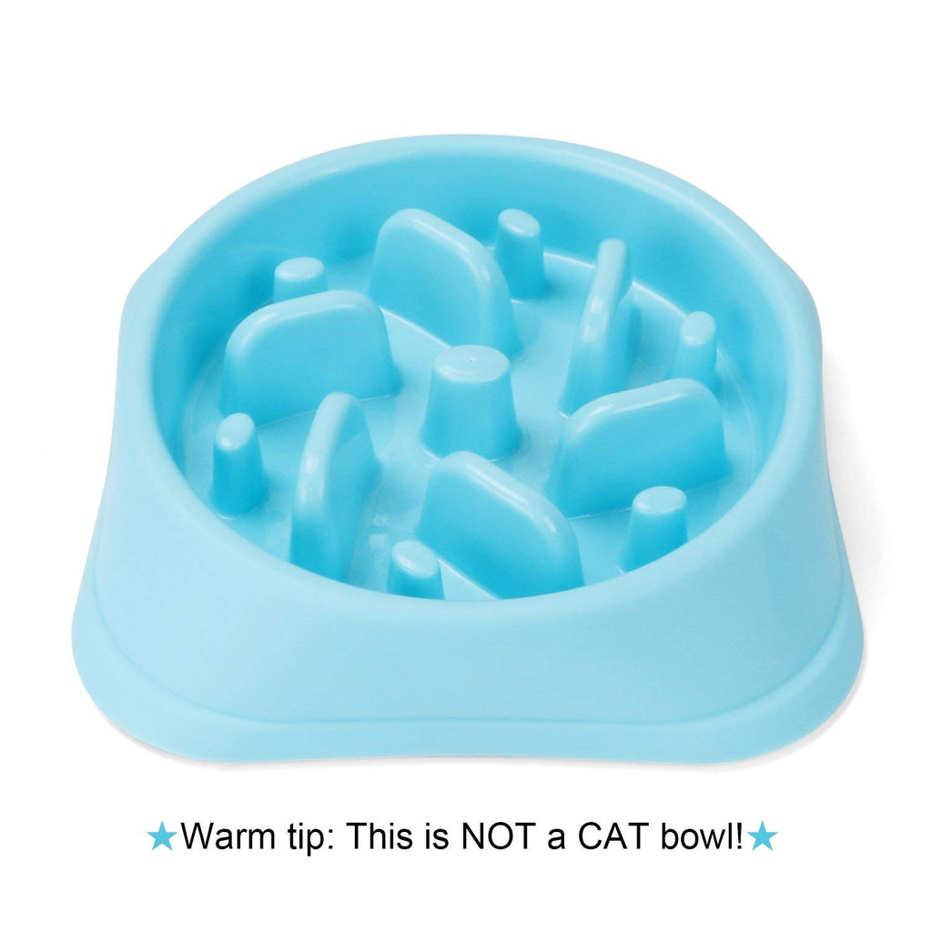 JASGOOD Dog Feeder Slow Eating Pet Bowl Eco-friendly Durable Non-Toxic Preventing Choking Healthy Design Bowl For Dog Pet - JASGOOD-OFFICIAL