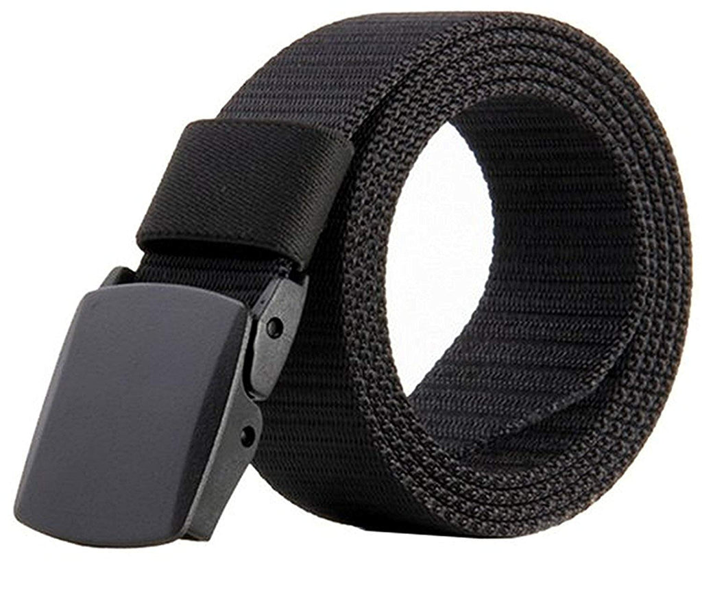 Nylon Canvas Breathable Military Tactical Men Waist Belt With Plastic Buckle  by JASGOOD