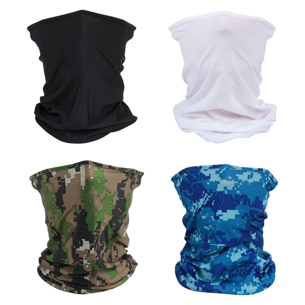 6 Packs Multifunctional Face Scarf for Outdoors and Festivals