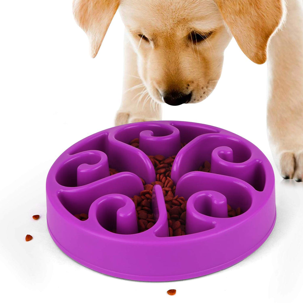 JASGOOD Slow Feeder Dog Bowl New Arriving Fun Feeder Slow Feeding Interactive Bloat Stop Dog Bowls - JASGOOD-OFFICIAL