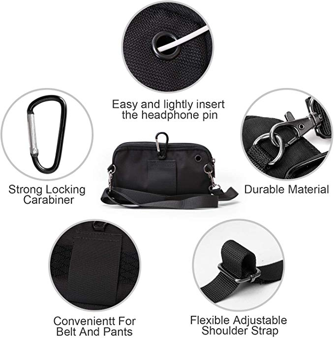 JASGOOD Nylon Canvas Breathable Military Tactical Men Waist Belt With Armband Phone Pouch