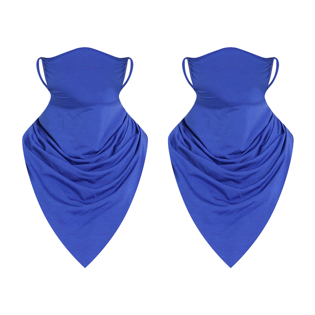 Women/ Men Face Scarf with Ear Loops