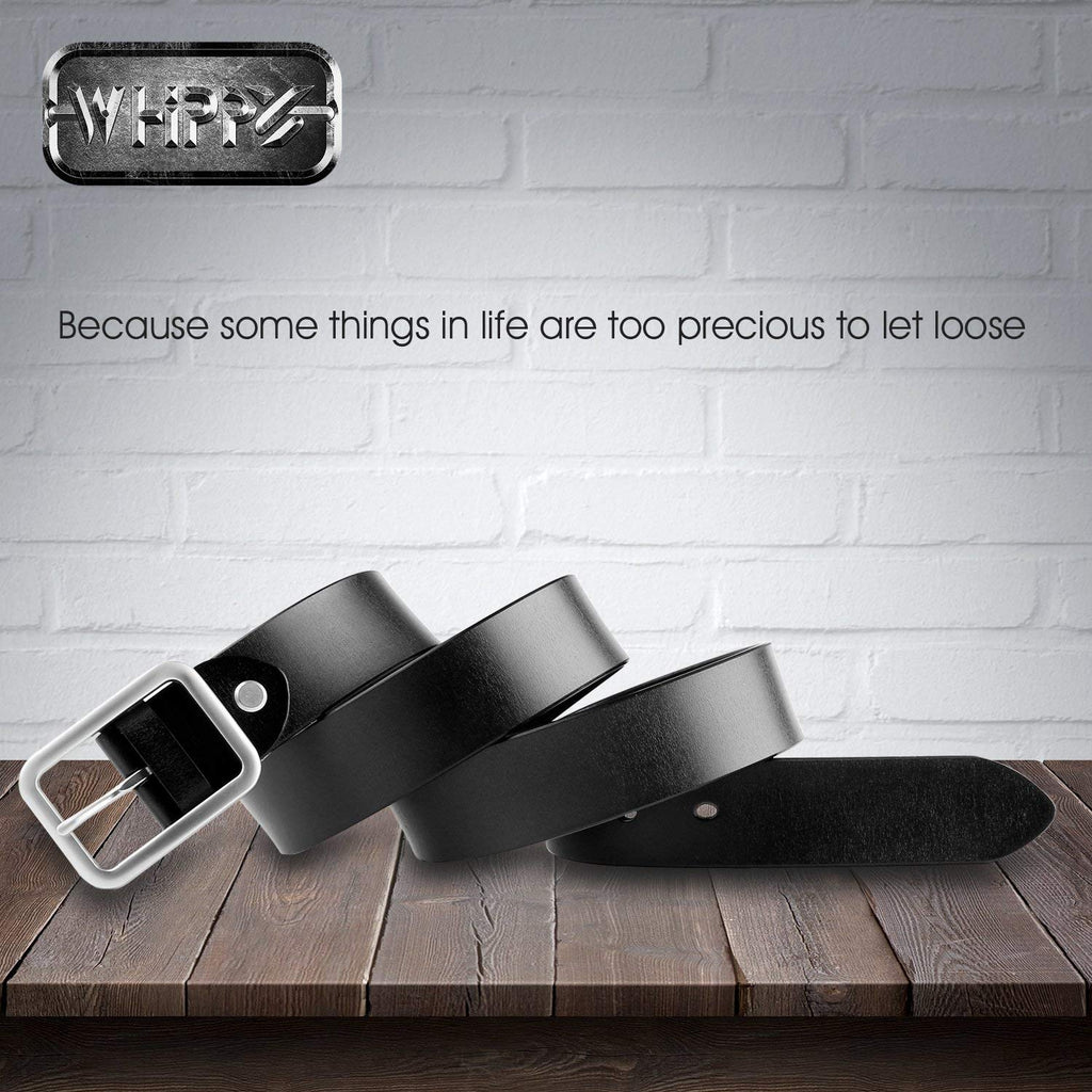 "New Arrival Jeans Belt for Women Leather Belt with Solid Pin Buckle Pants Size up to 44"" - JASGOOD-OFFICIAL"