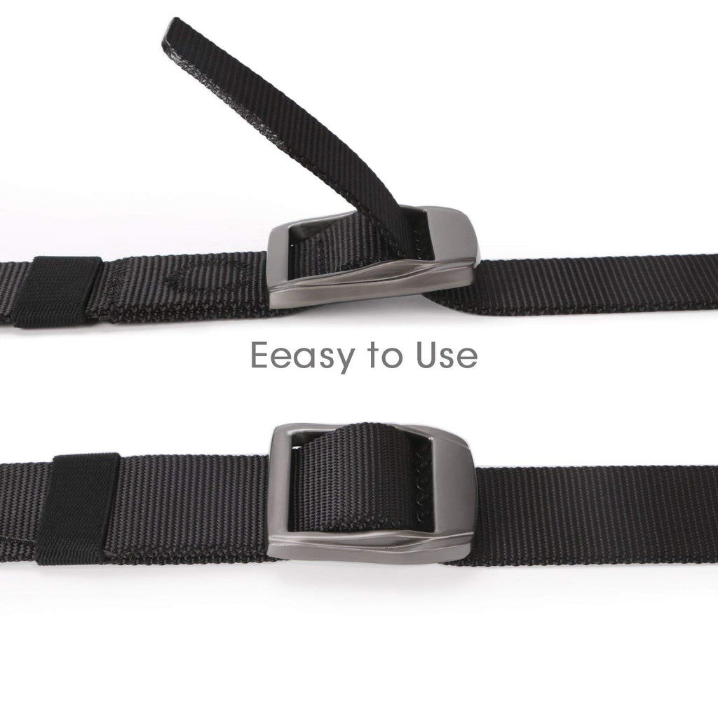 Tactical Heavy Duty Reinforced Nylon Belt for Men Adjustable Military Webbing Belt Strap with Metal Buckle by JASGOOD
