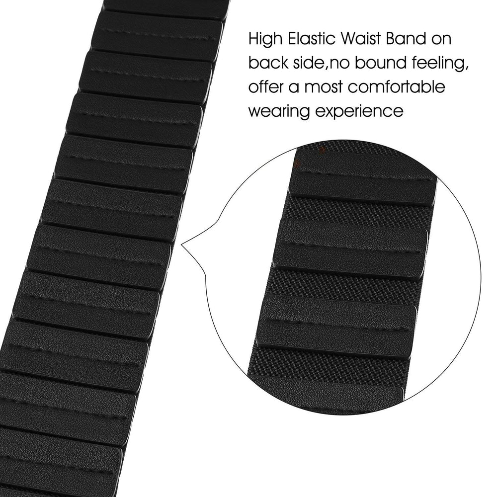 Women's Fashion Vintage Wide Elastic Stretch Waist Belt With Interlock Buckle by JASGOOD - JASGOOD-OFFICIAL
