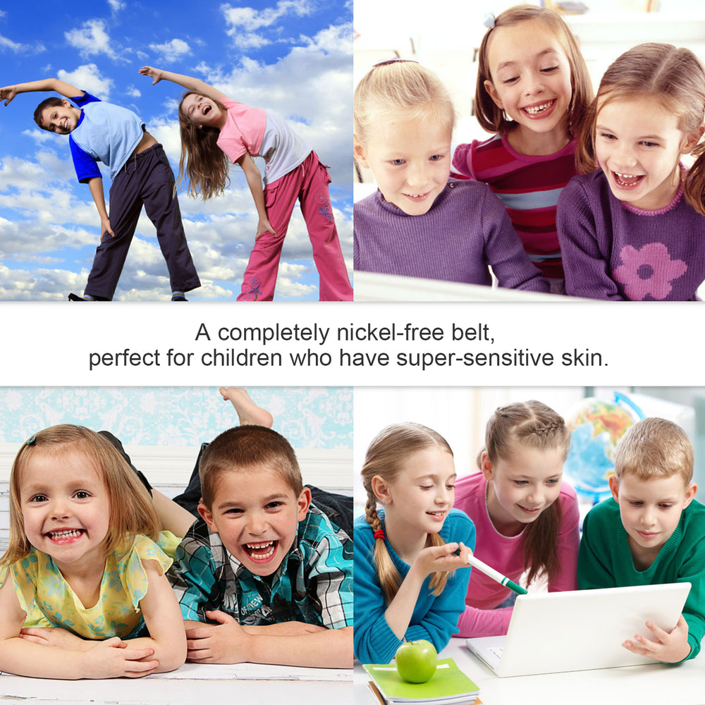 Kids Adjustable Elastic Belts for Pants Children Stretch Belts for Boys and Girls by JASGOOD - JASGOOD-OFFICIAL