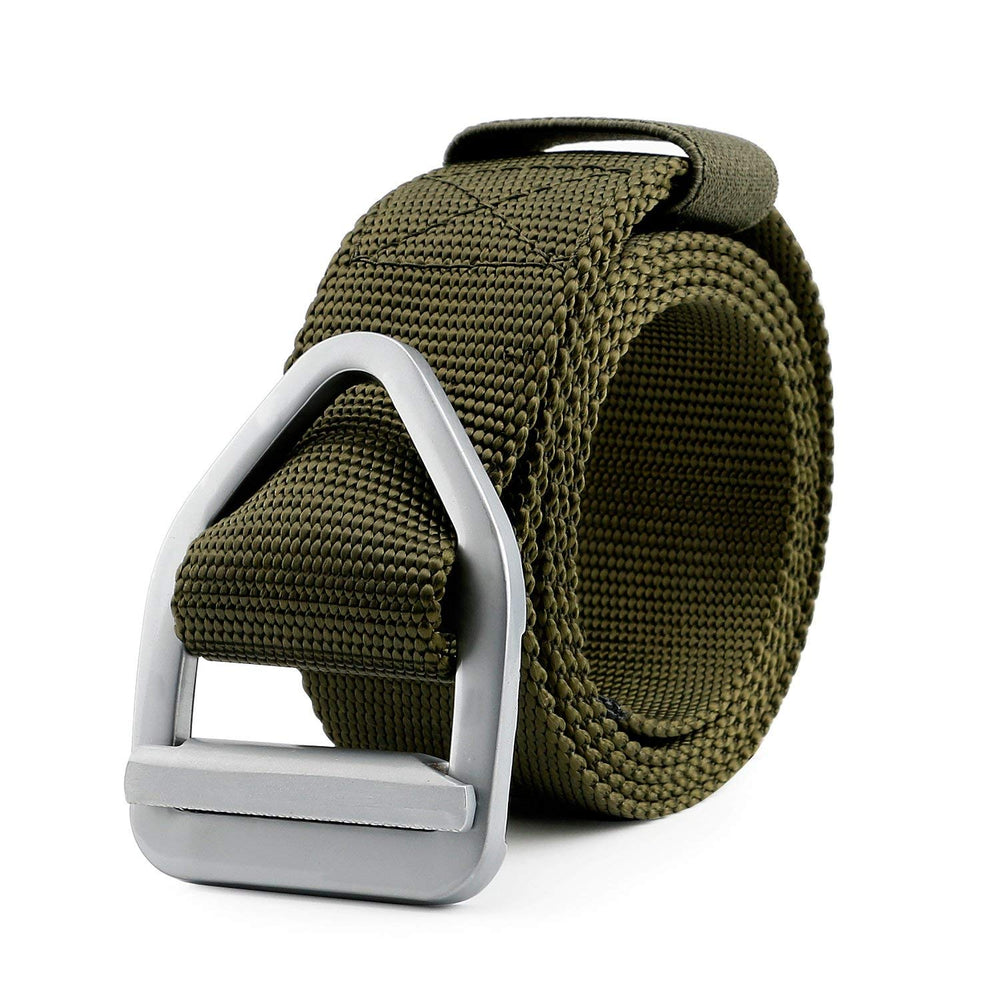 Men's Nylon Military Style Casual Army Outdoor Tactical Webbing Buckle Belt by JASGOOD-JASGOOD OFFICIAL
