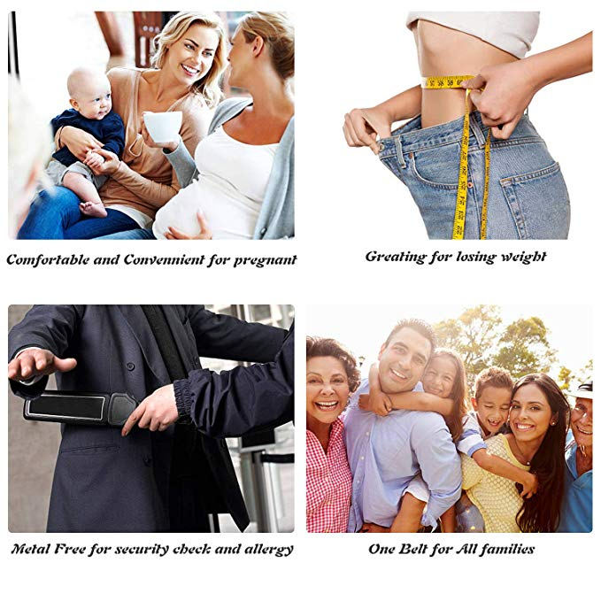 No Show Women Stretch Belt Invisible Elastic Web Strap Belt with Flat Buckle for Jeans Pants Dresses - JASGOOD-OFFICIAL