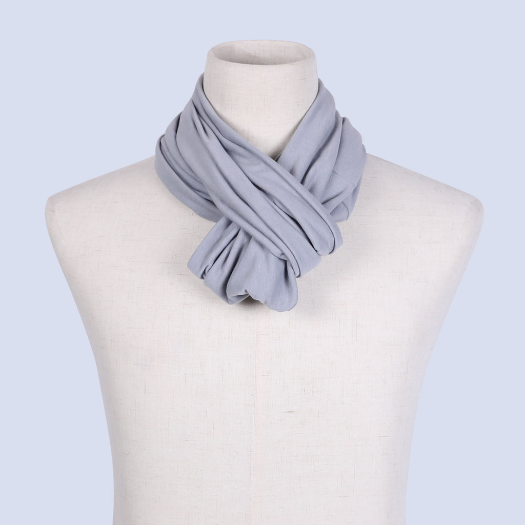 Fashion Infinity Scarf with Zipper Pocket Loop Scarf for Women and Men Neck Head Scarves Travel Wrap