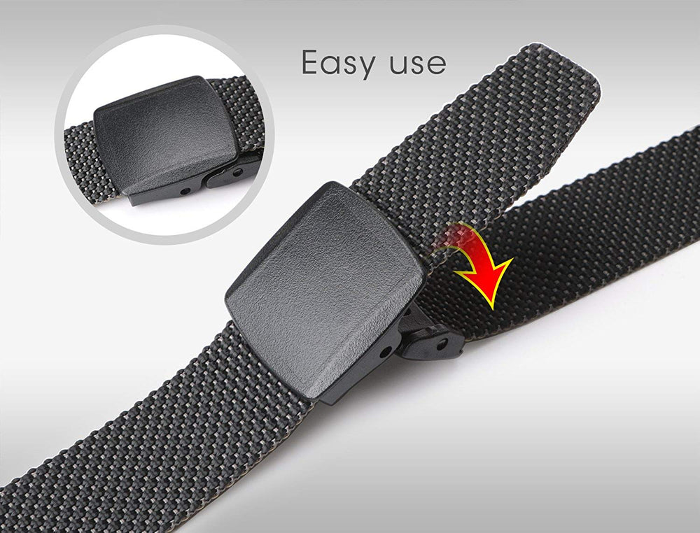 "Nylon Belt Outdoor Belt Reversible Belt Tactical Duty Belt with YKK Plastic Buckle Up to 48""  by JASGOOD - JASGOOD-OFFICIAL"