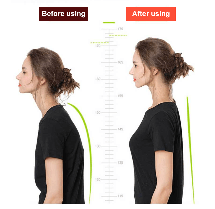 Posture Corrector for Women and Men with Underarm Pads - Adjustable Effective Comfortable Back Support Brace - Ideal for Clavicle Support and Upper Back Shoulder Neck Pain Relief - JASGOOD-OFFICIAL