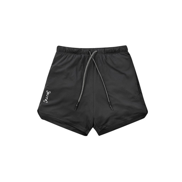 DOUBLE LAYER SHORTS™ WITH SECURE POCKET
