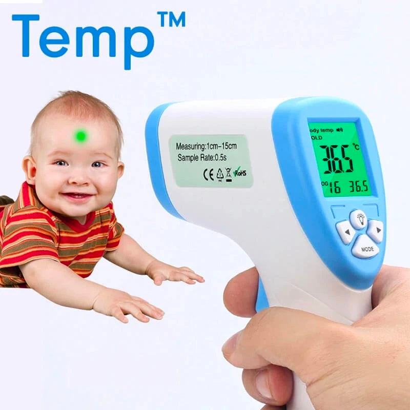 Non-contact Digital Laser Infrared Forehead Thermometer Temperature 35 ℃~42 ℃ (95 ℉~108 ℉) CK-T1503