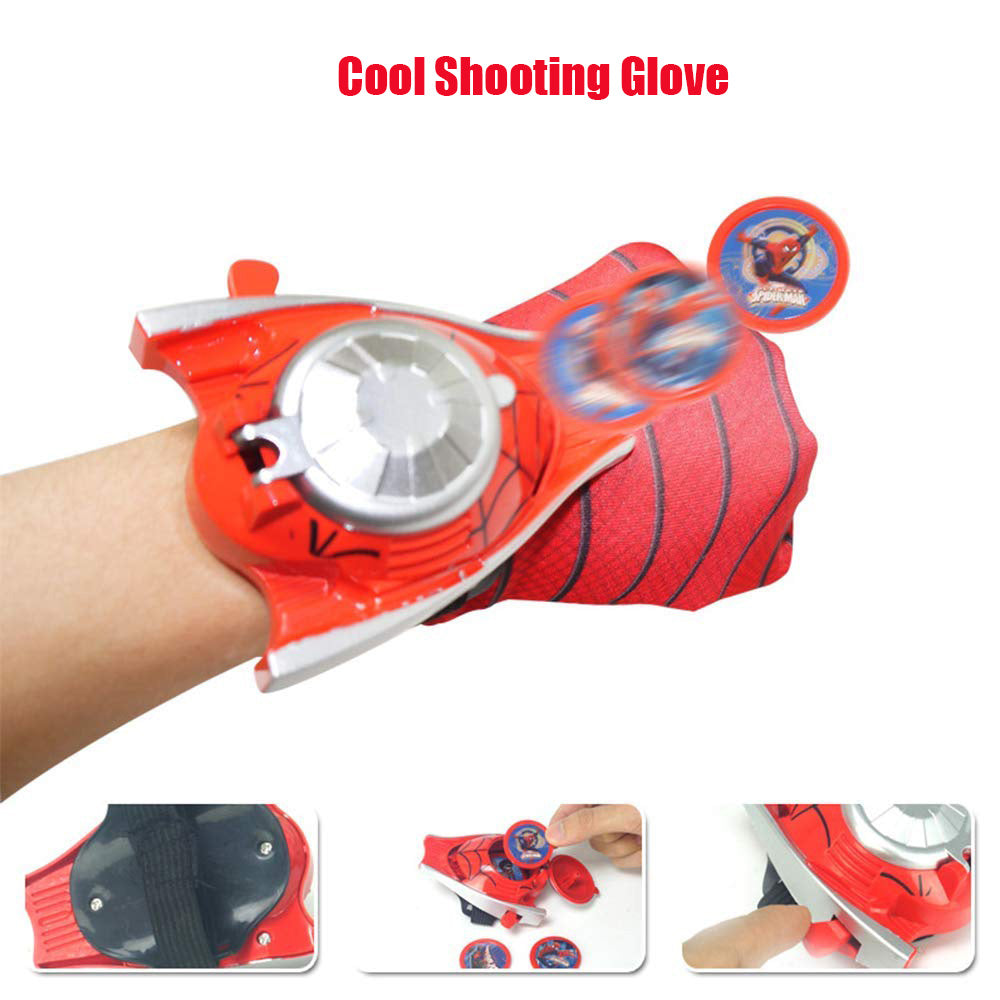 Christmas Gift Full Set of Equipment Children Cosply Toy(shooting glove+LED mask+cape)