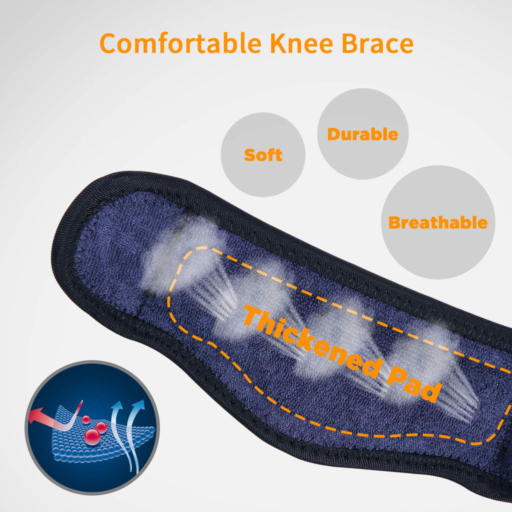 Thickened Pad&Wide Patella Knee/Meniscus Strap