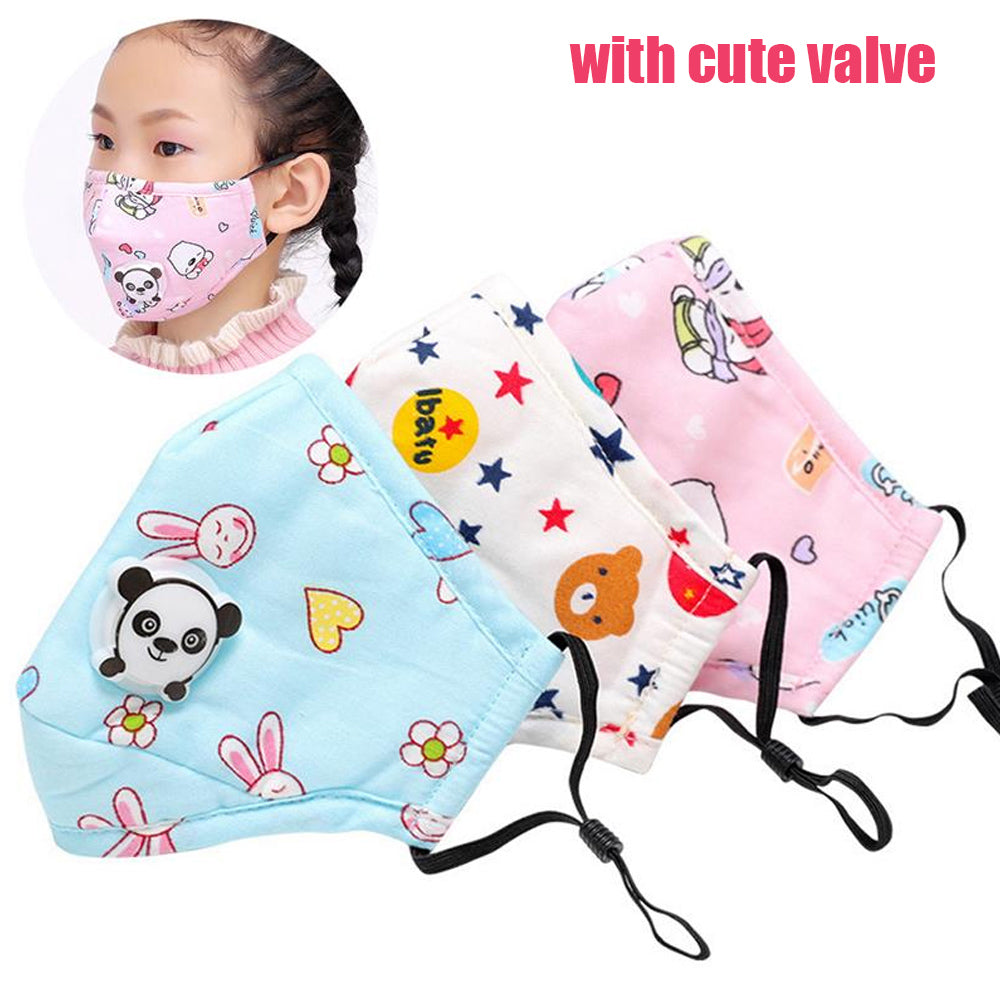 [Children Size] Reusable and Washable  Filter Mask(4~12 years old)