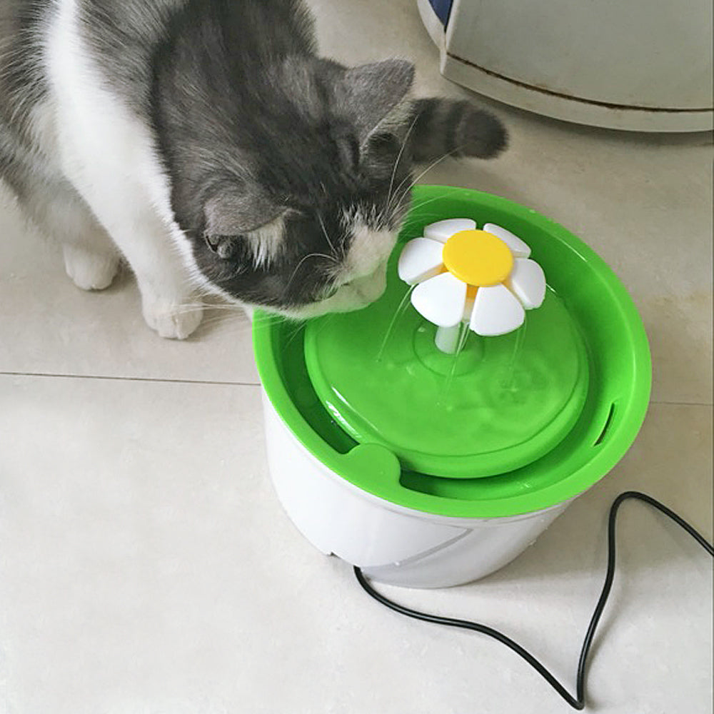 Water Filter Flower Pet Fountain