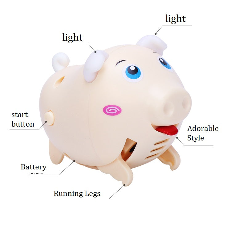 Whistling Sensing Pigs Christmas Gift for Children