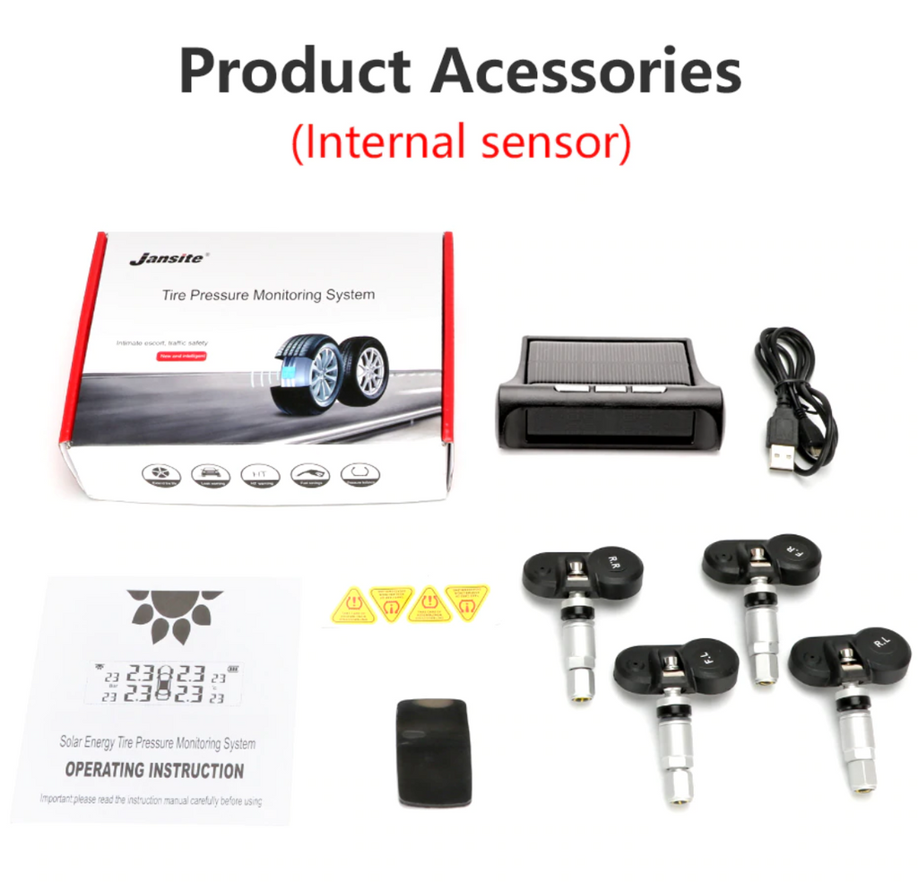 Smart Car TPMS Tyre Pressure Monitoring System