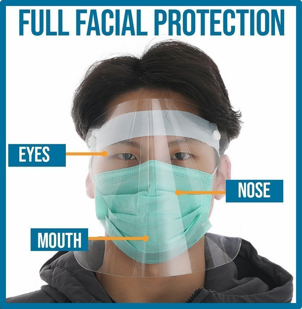 Full-Cover Anti-DropIets Face Shield