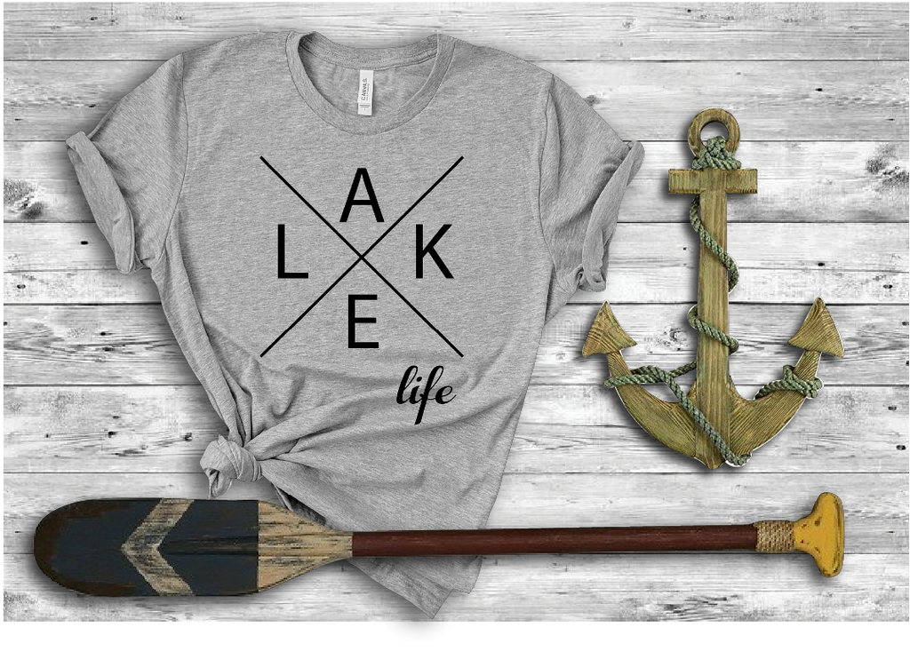 Lake Life X Bella Canvas 3001 Tee