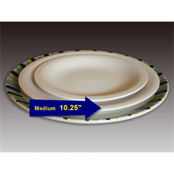 Rounded Coupe Dinner Plate