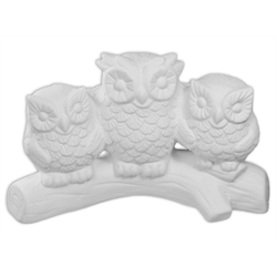 Three Amigos Owls