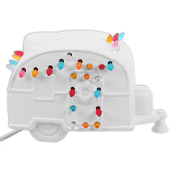 Light up Christmas Camper