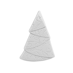 Stippled Tree Ornament