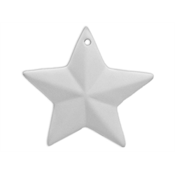 "Small (3.5"") Stellar Star Ornament"