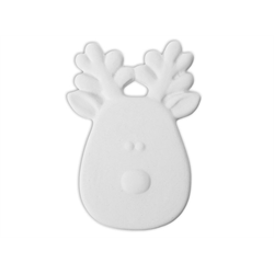 Reindeer flat ornament