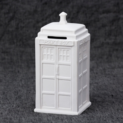 Doctor Who Police Box Bank
