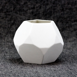 Hexagon Faceted Planter
