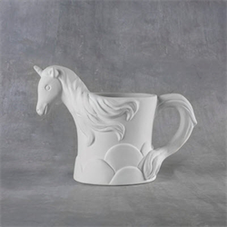 Unicorn Mug with circles
