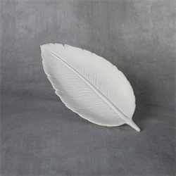 "Flat Feather Dish (12"" long)"