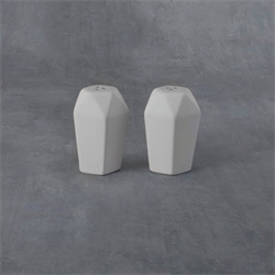 Faceted Salt & Pepper Shakers