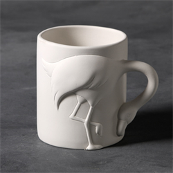 Flamingo Mug with legs