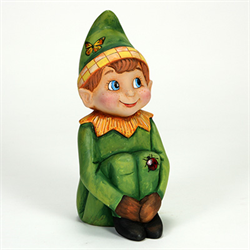 Large Vintage Elf on the Shelf