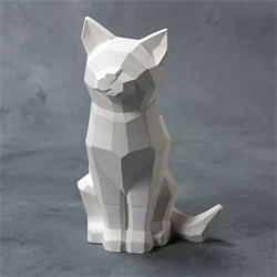 Faceted Cat