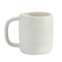 Message cottage mug