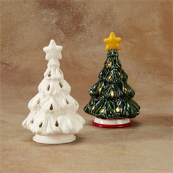 Christmas Tree Votive (with base)