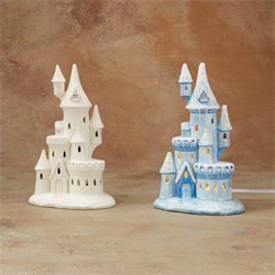 Light Up Castle with Light Kit