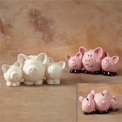 Pig Spend Share Save Bank